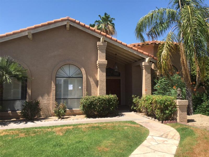 Scottsdale home exterior
