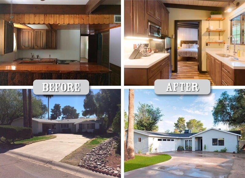 Residential Before and After
