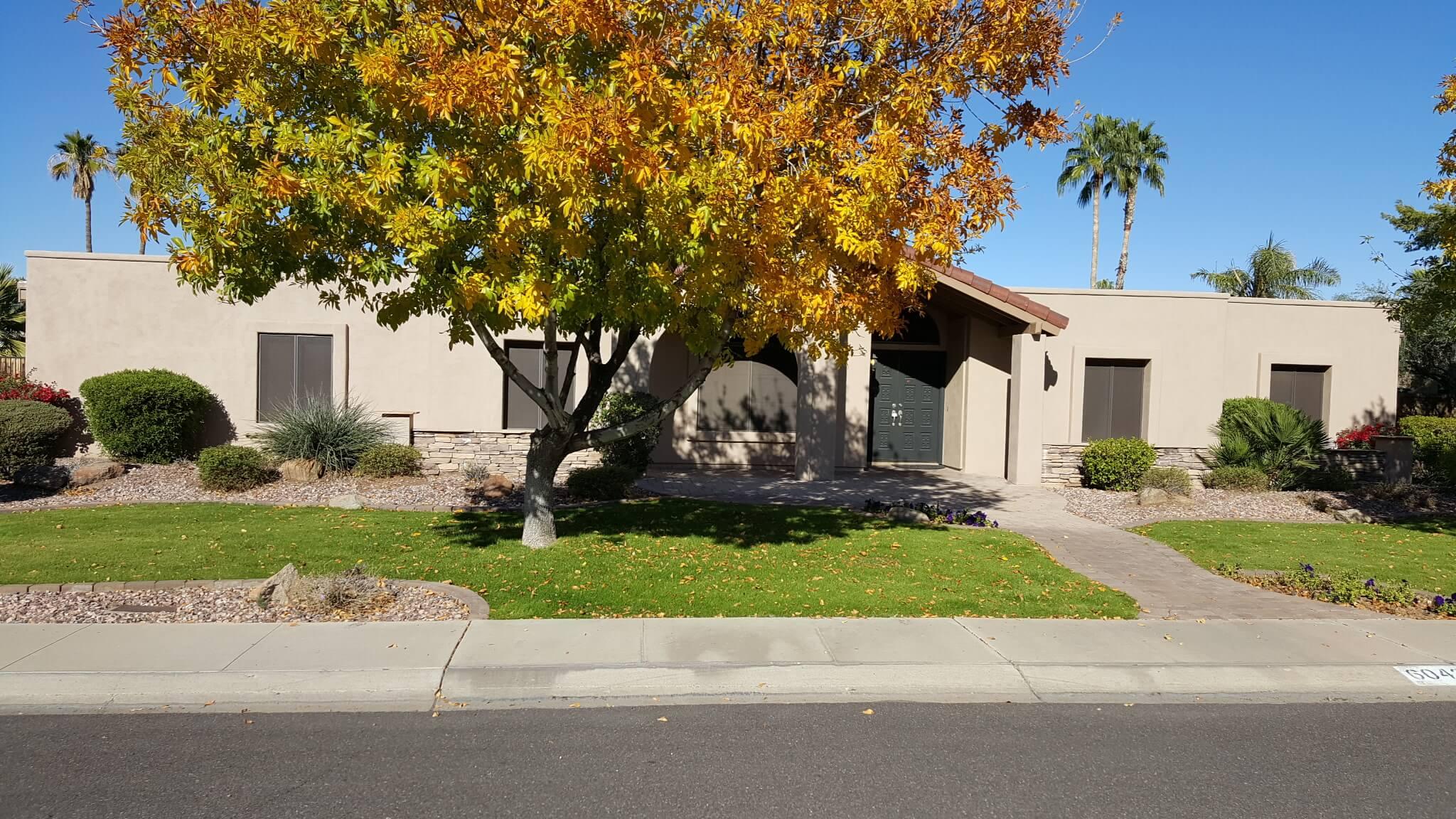 Suburban home in Arizona