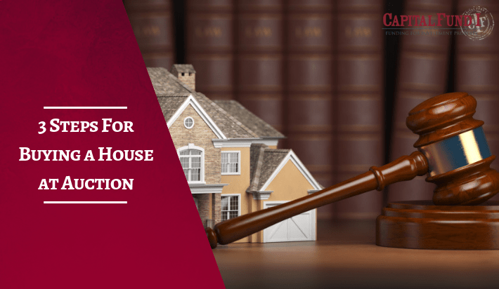3 Steps For Buying a House at Auction