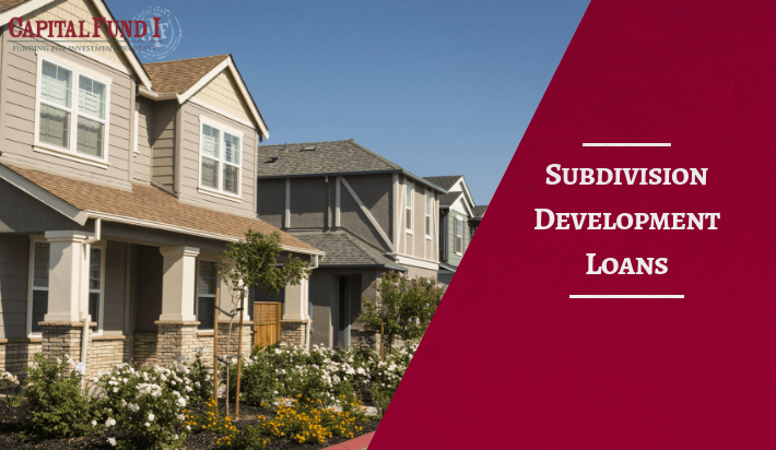 Looking to refinance an investment property? Capital Fund 1 helps with subdivision development loans.