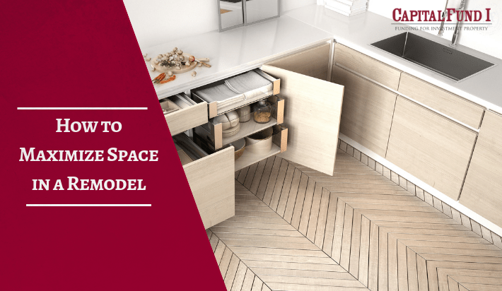 Maximizing space when remodeling is a way to spend money wisely. Capital Fund 1.